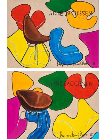 Colourful Two – Sæt af 2 stk.